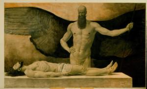 Sascha_Schneider_Triumph_der_Finsternis__1896_